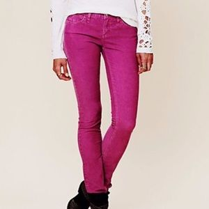 Free People Zipper Ankle Skinny Jeans Size 26